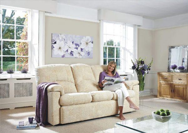 Chloe Gplan 3 str 2 str sofa chair leather fabric donaldsons