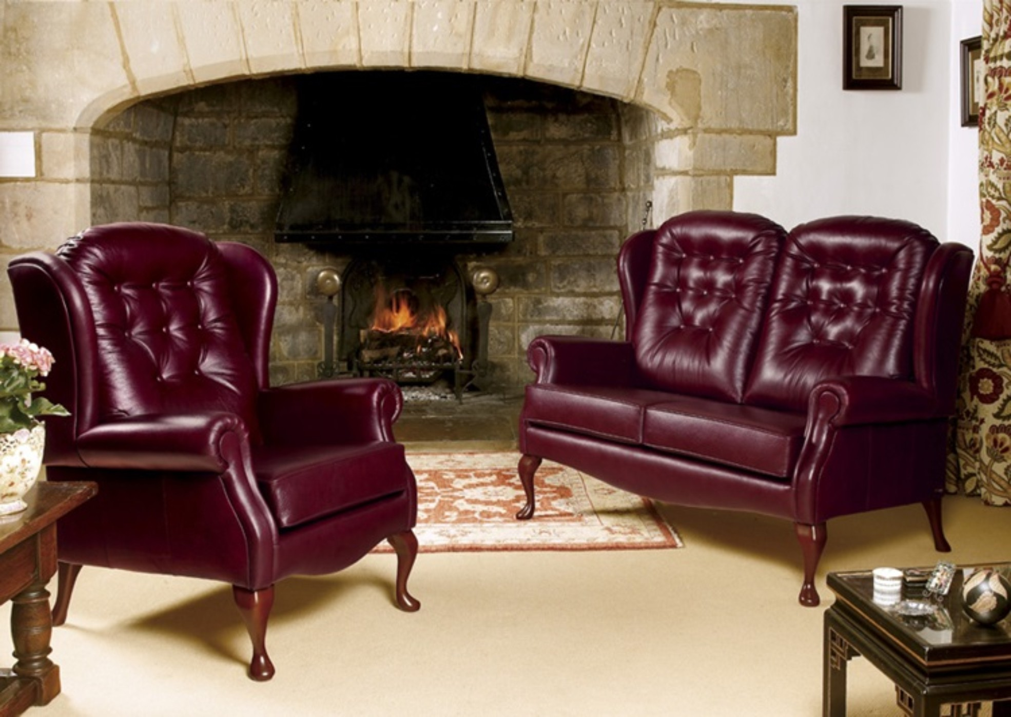 Lynton Standard Seat Fireside Chair and 2 Seater