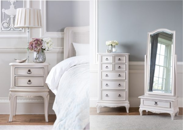 Painted Toulouse Bedroom