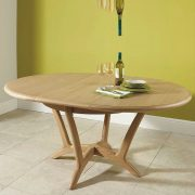WN219 Round Ext Dining Table 01
