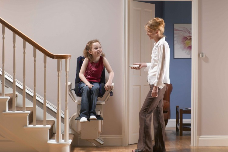 Stannah Childs Stairlift Donaldsons Furnishers
