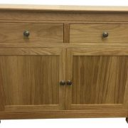 BMT15S Front Solid Top Large Sideboard in Oak