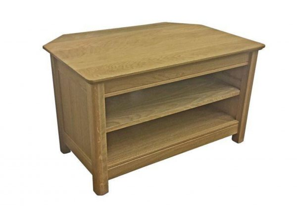 Beaumont Solid Top Small Corner Tv Unit