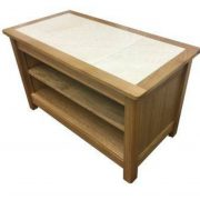 Beaumont Tile Top Oak TV Unit