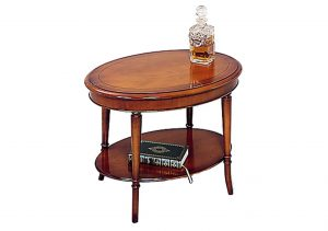 Bradley Oval Lamp Drink Table