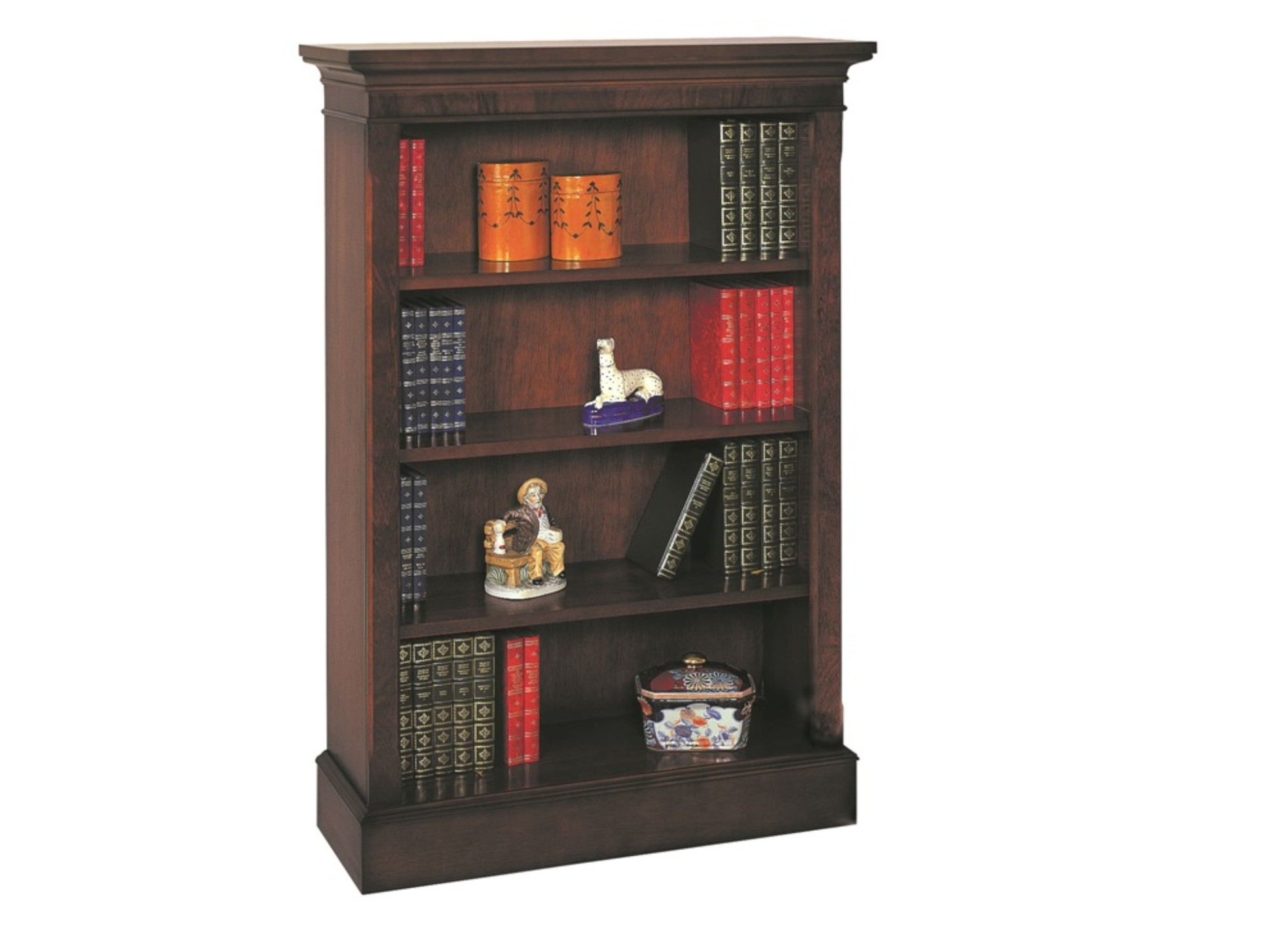 Bradley 4 Shelf Bookcase