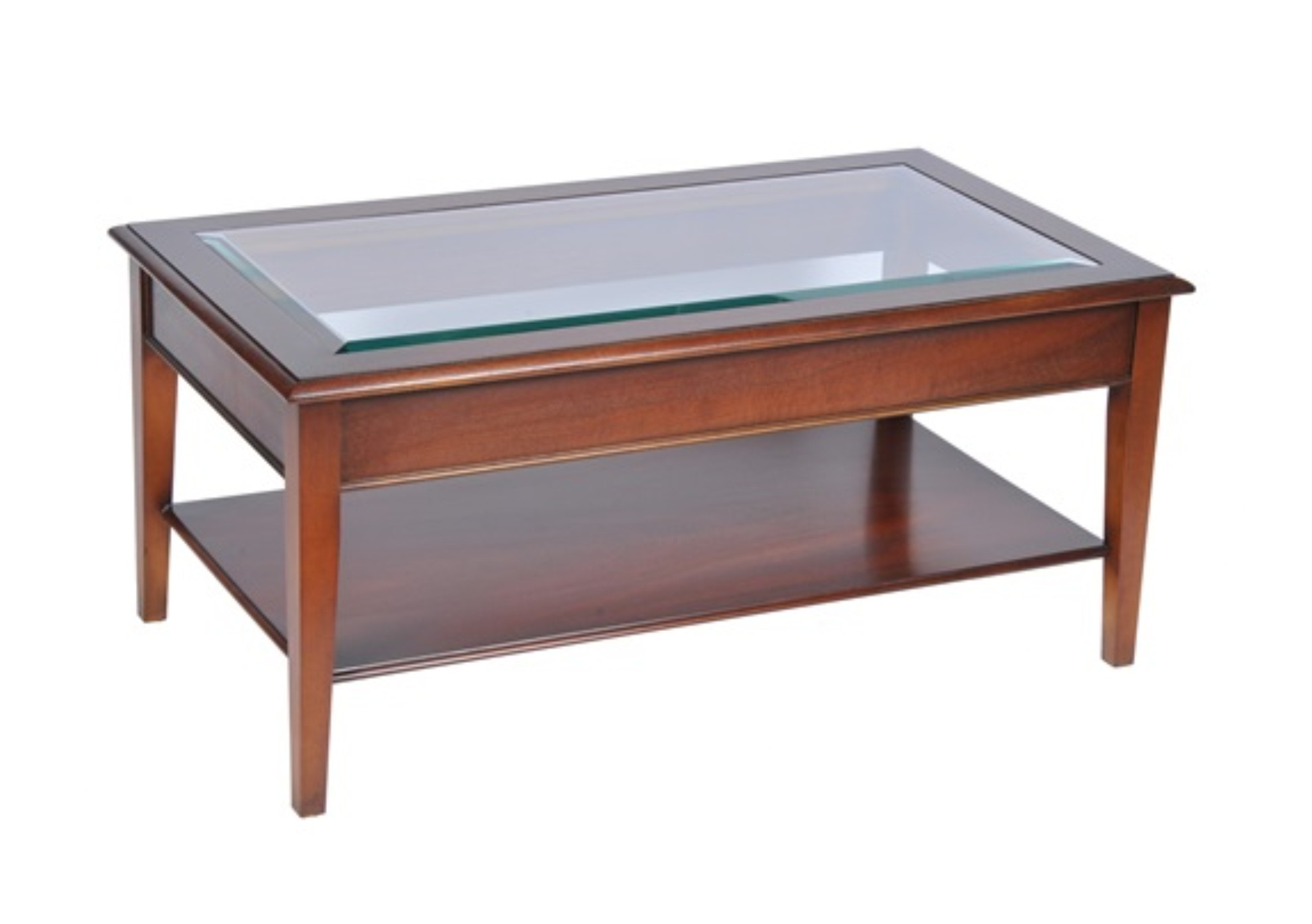 Bradley Glass Top Coffee Table