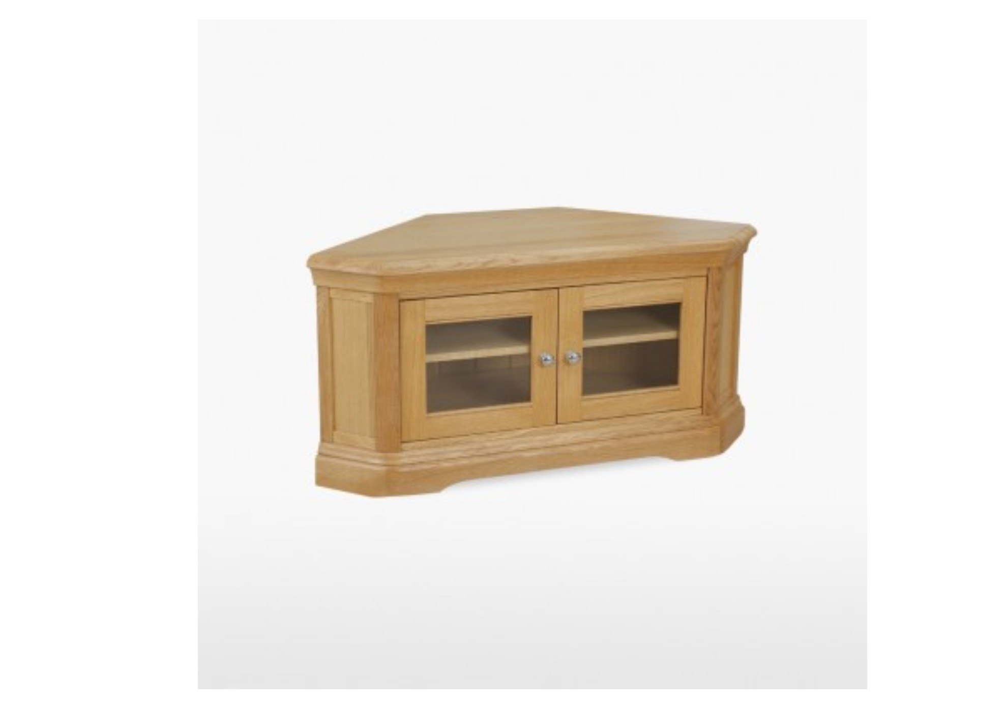 Lamont Oak Corner TV Unit