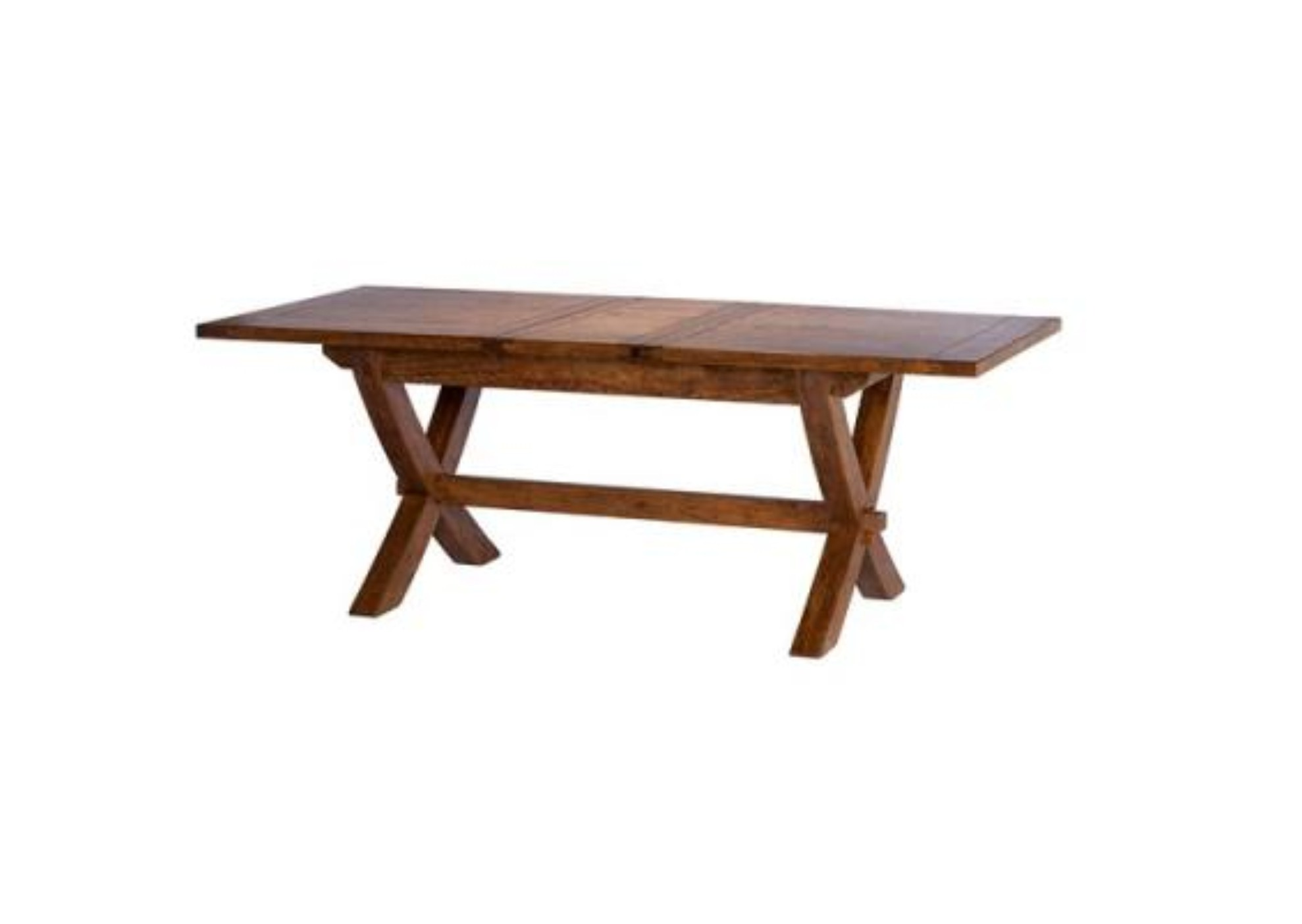 Manhattan Mango Cross Extending Dining Table