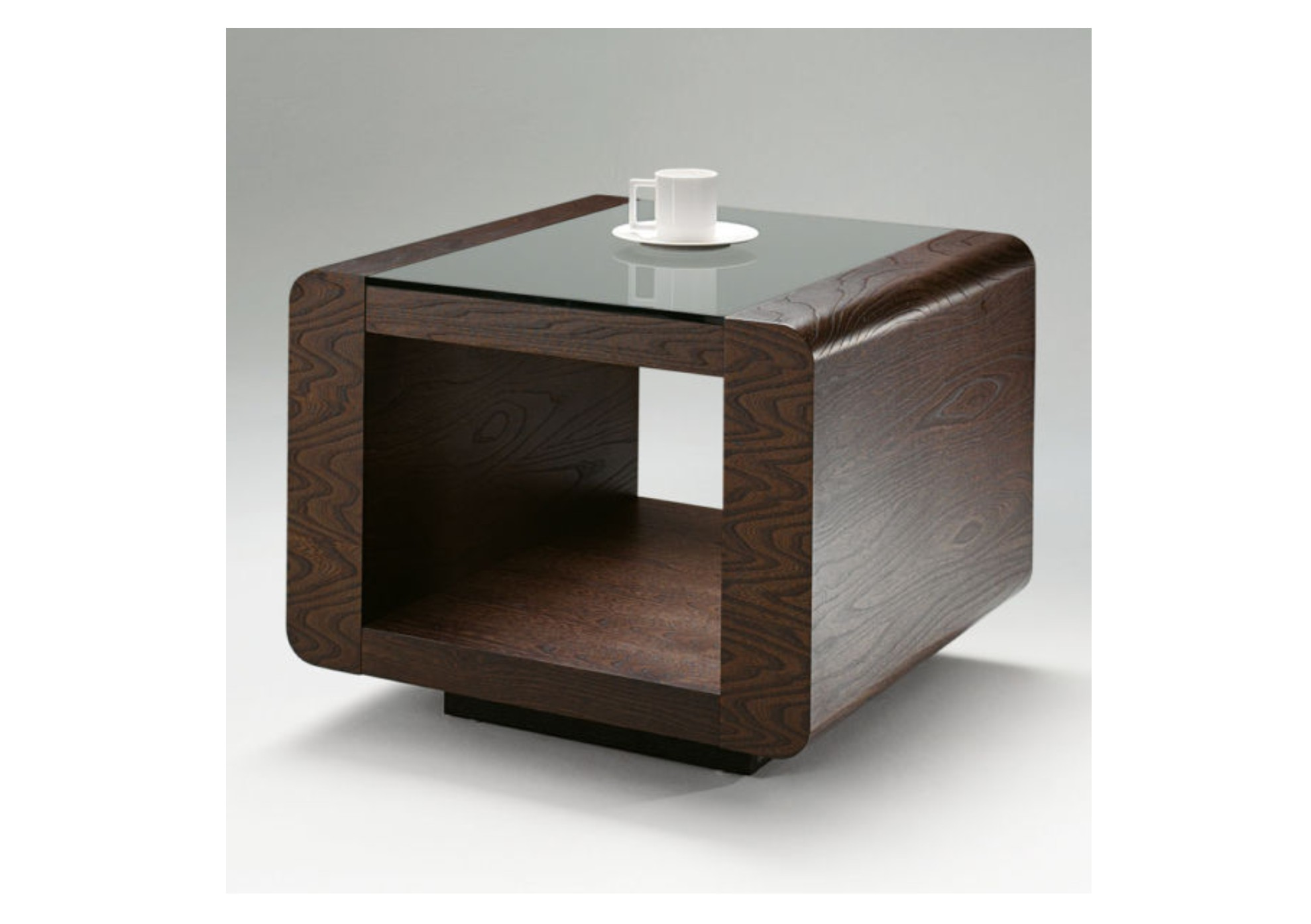 Penthouse Elm Square Lamp Table