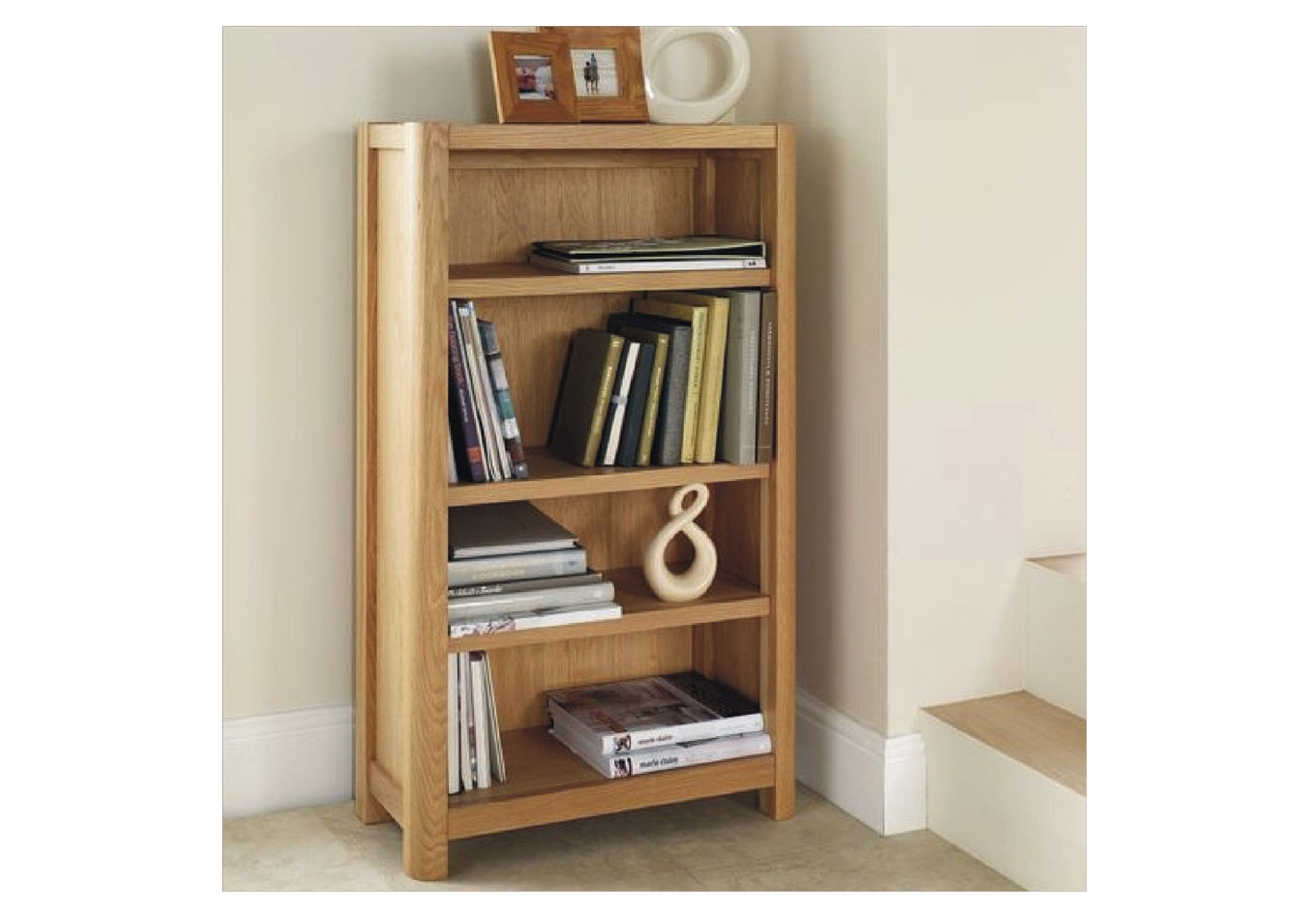 Stockholm Oak Bookcase American Oak And Oak Veneers