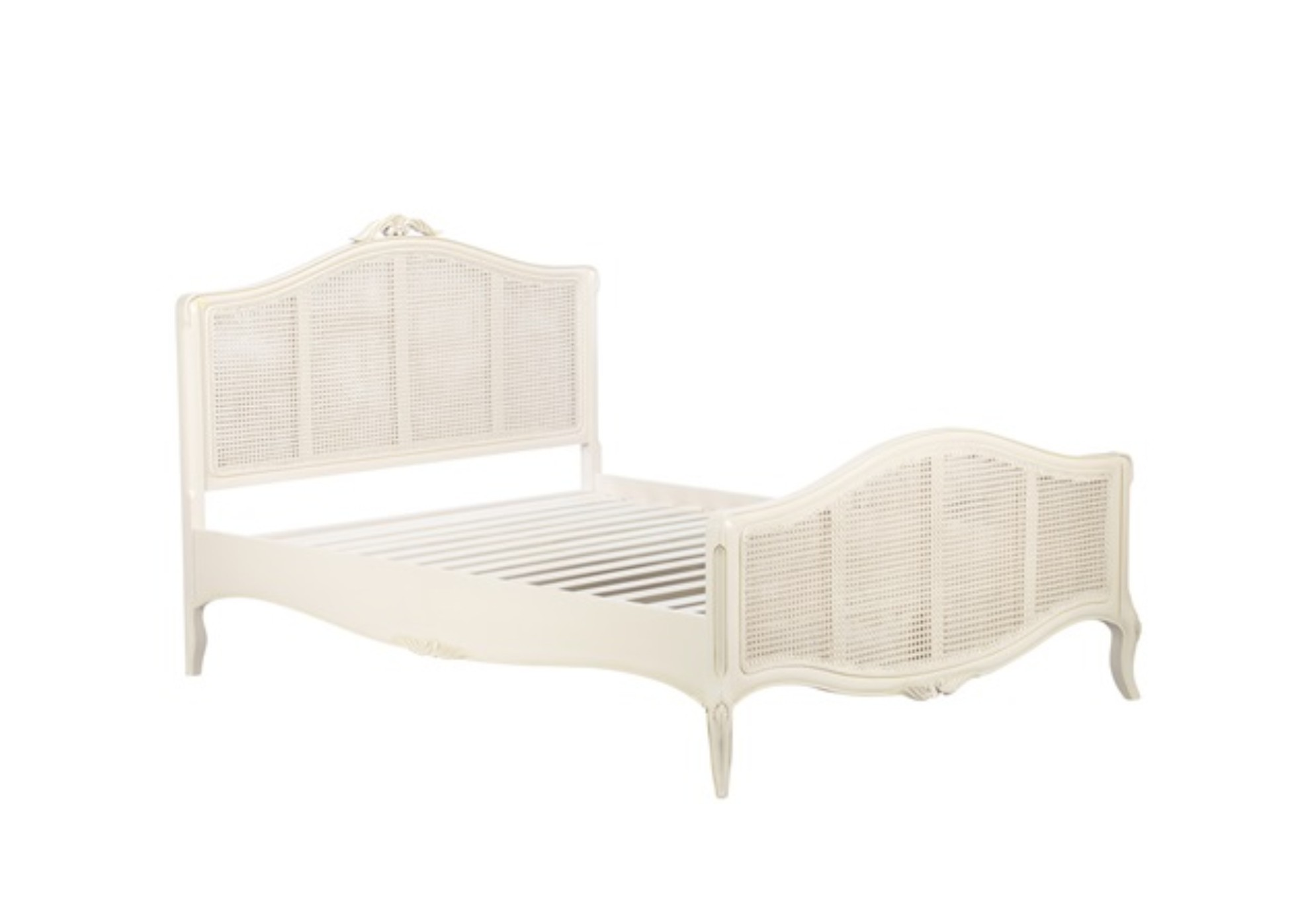 Painted Toulouse Bedstead