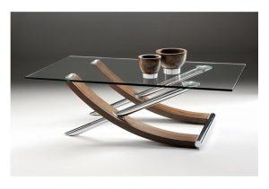 Tusk Glass Coffee Table