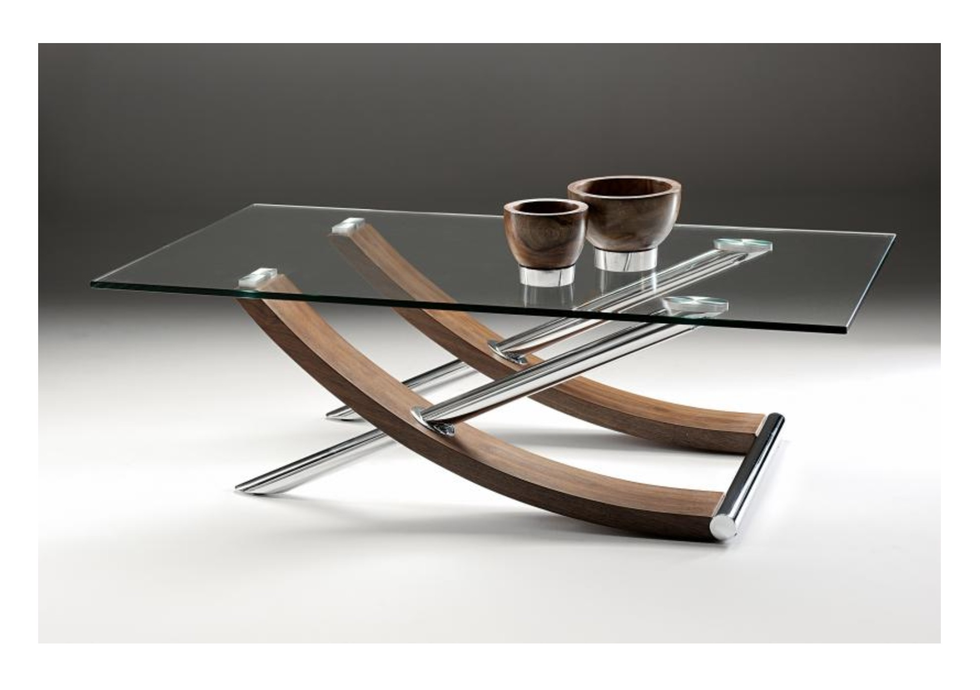 Tusk Glass Coffee Table