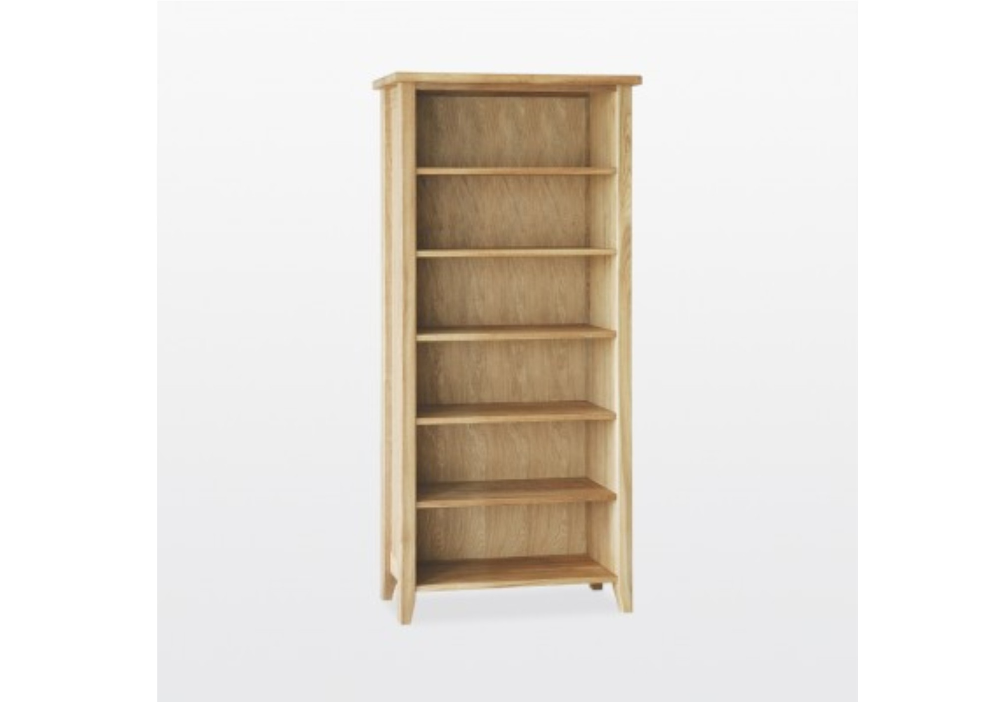 Windsor 5 Shelf Bookcase