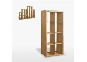 Windsor 8 Shelf Cube Bookcases