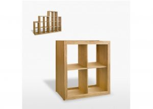 Windsor 4 Shelf Cube Bookcase