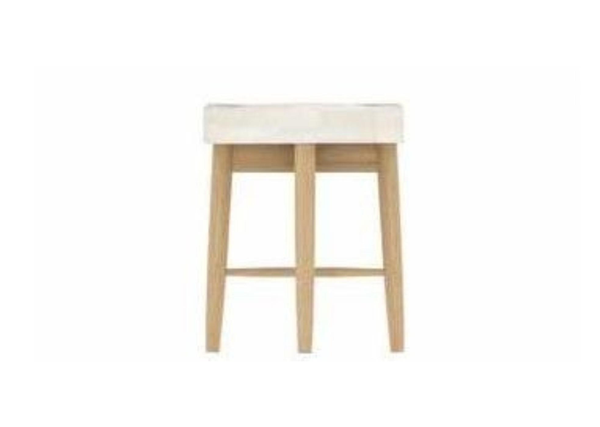 Anais Oak Bedroom Dresser Stool