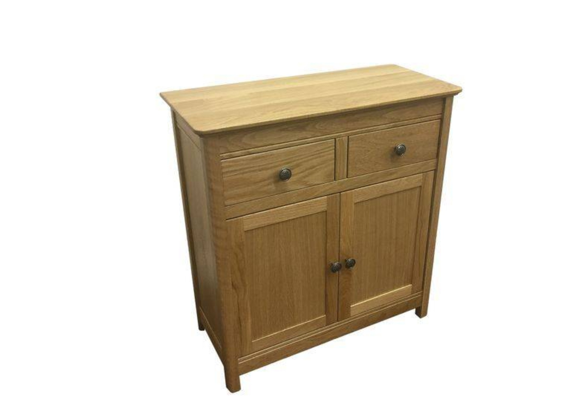 AnBercraft Solid Top 2 Door Sideboard