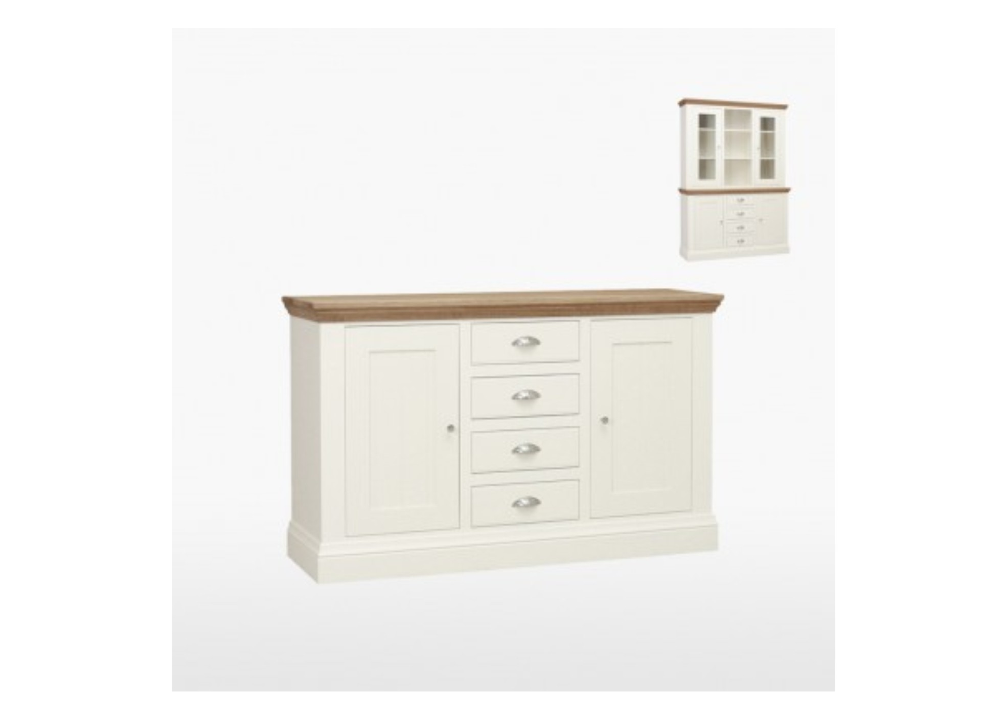 Coelo Painted 2 Door 4 Drawer Sideboard