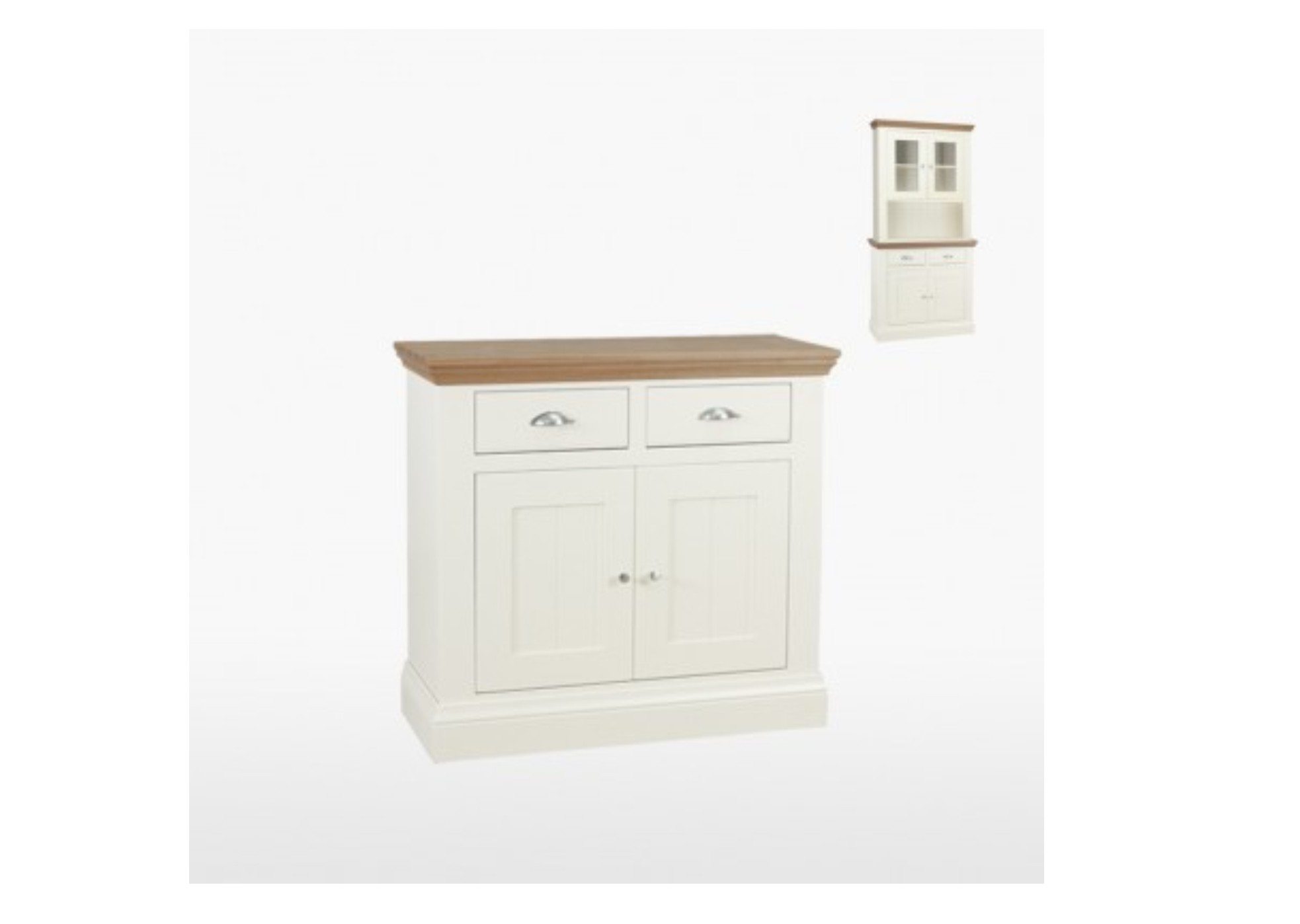 Coelo Painted 2 Door 2 Drawer Sideboard