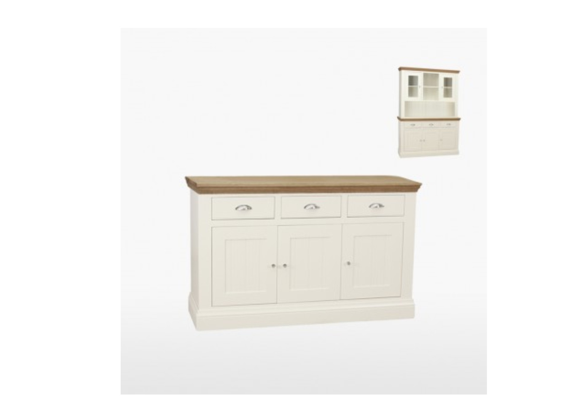 Coelo Painted 3 Door Sideboard