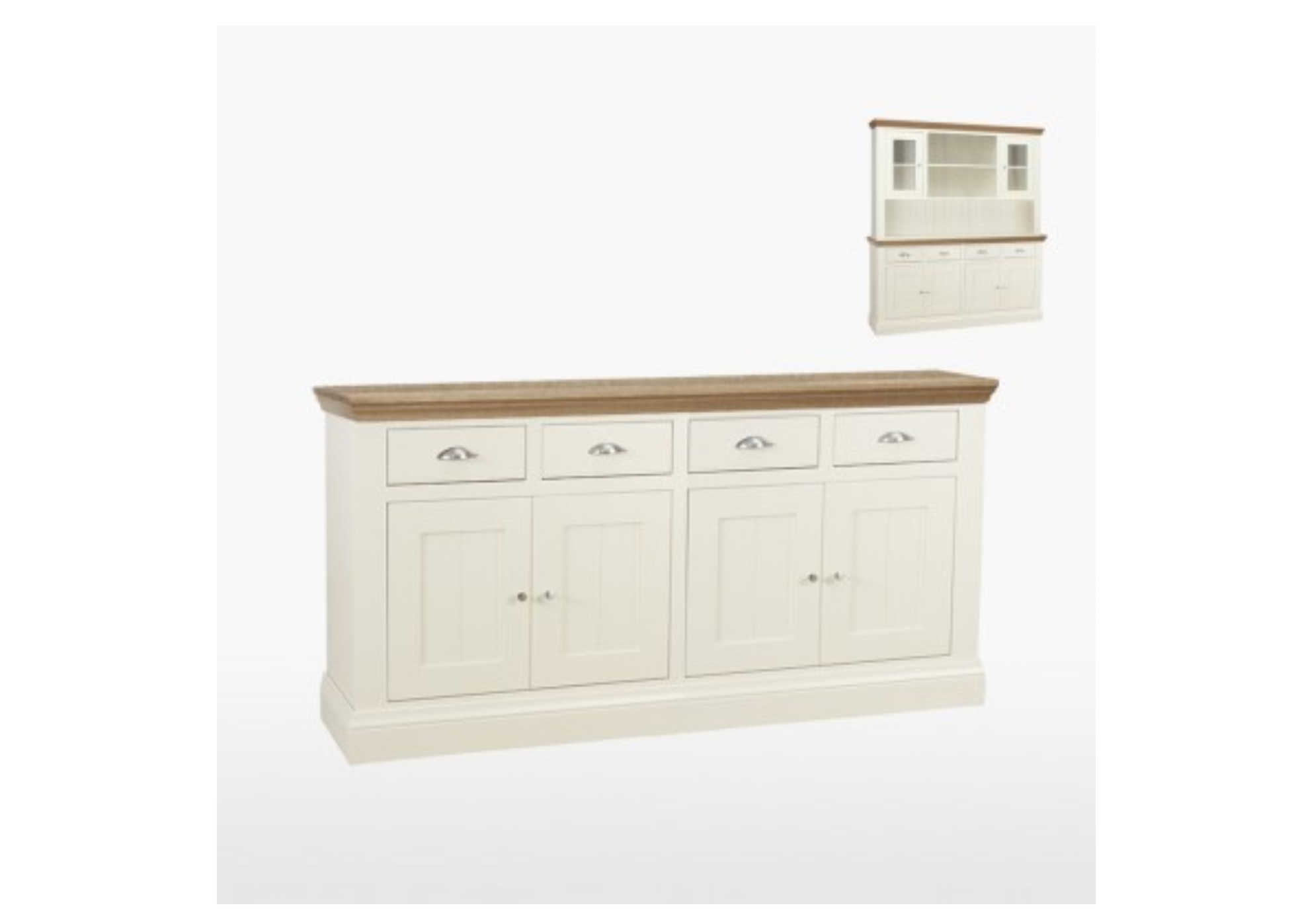 Coelo Painted 4 Door 4 Drawer Sideboard