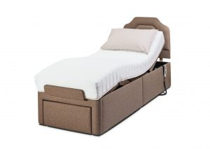 Dorchester 2ft adjustbale bed mobility4home donaldons furnishers