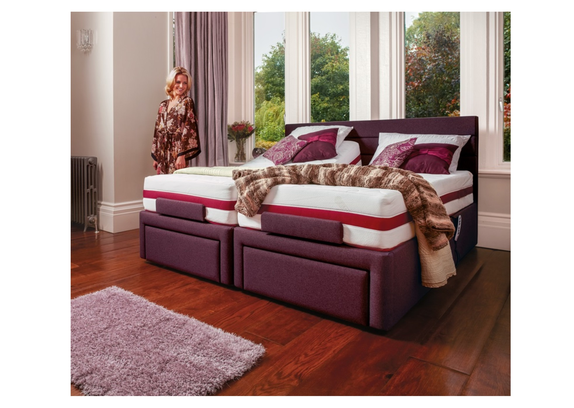 Dorchester 6ft Adjustable Bed mobility4home donaldsons furnishers