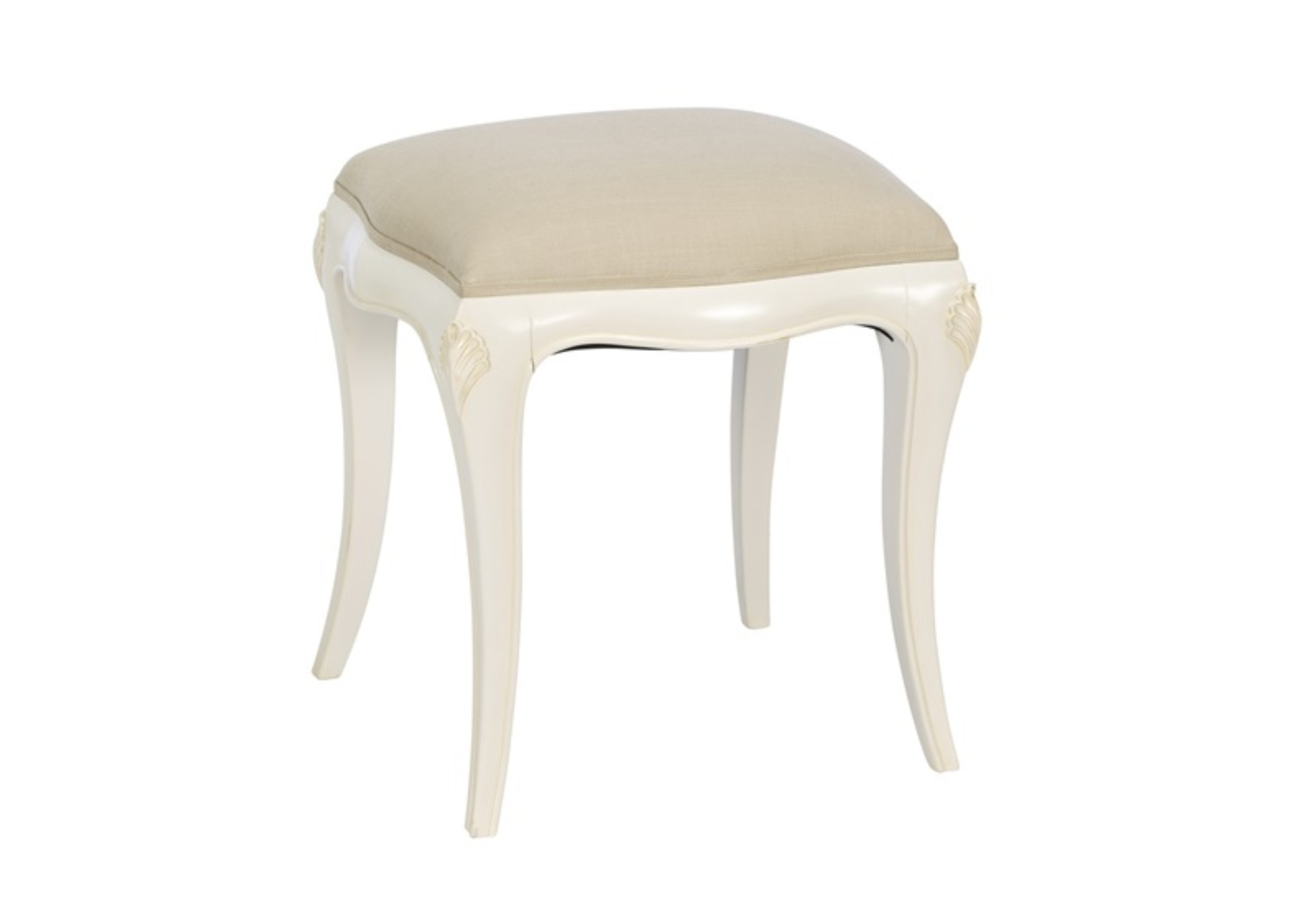 Painted Toulouse Dresser Stool