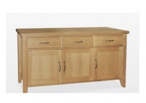 Windsor Oak 3 Door 3 Drawer Sideboard