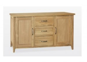 Windsor Oak 2 Door 3 Drawer Sideboard