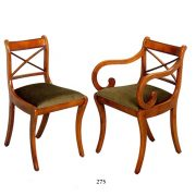 Bradley Cross Stick Dining Chairs