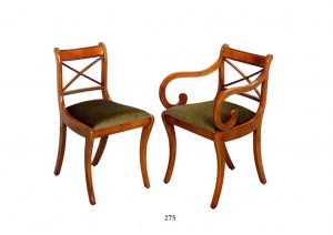 Bradley Cross Stick Dining Chairs