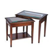 Bradley Glass Nest Tables