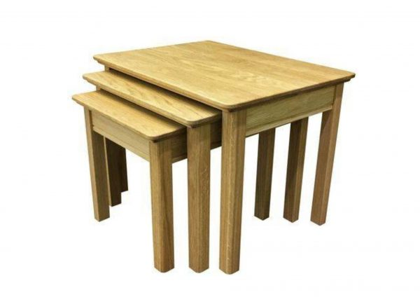 Beaumont Solid Top 3 Nest Table