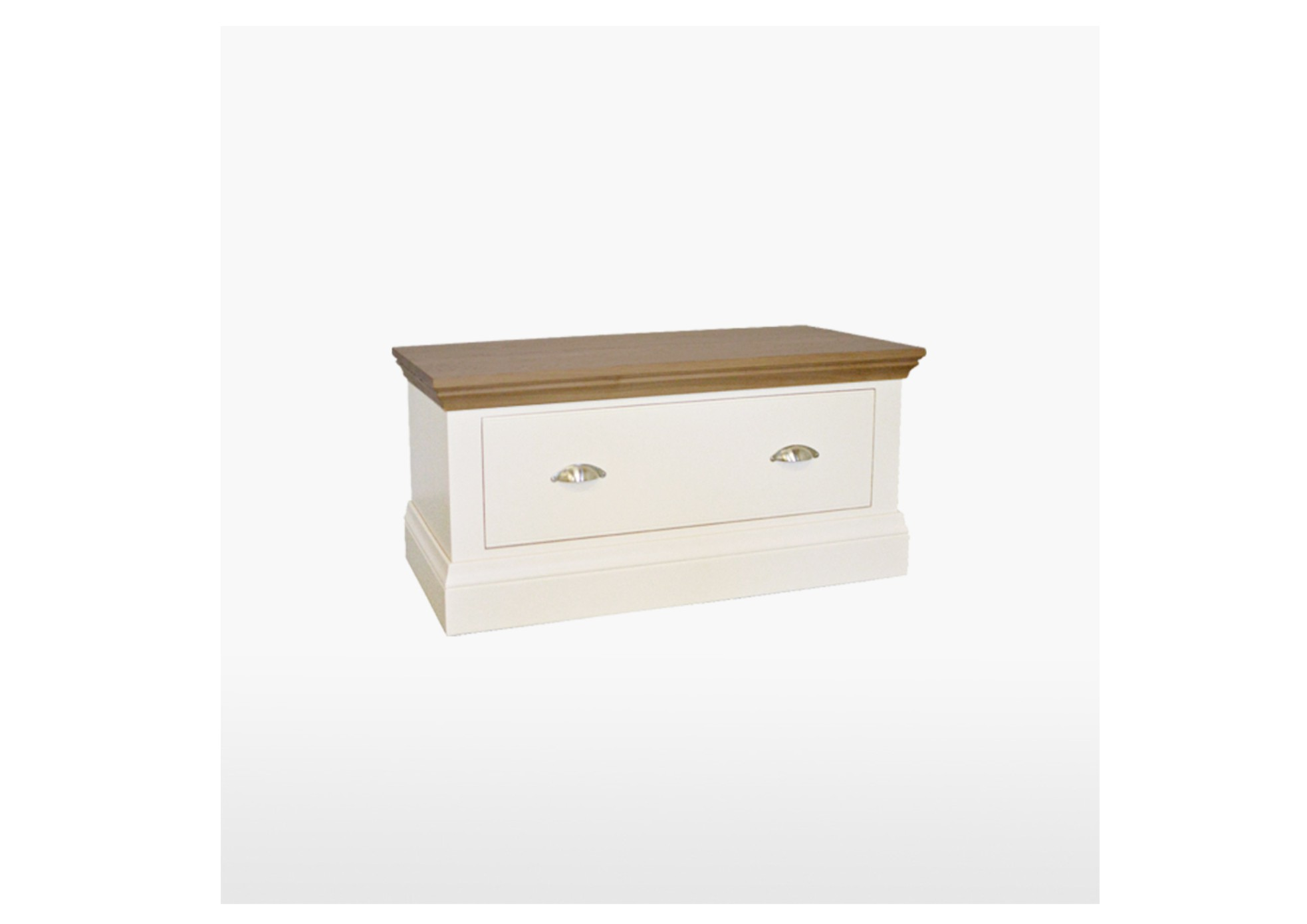 Coelo Painted Small Blanket Box