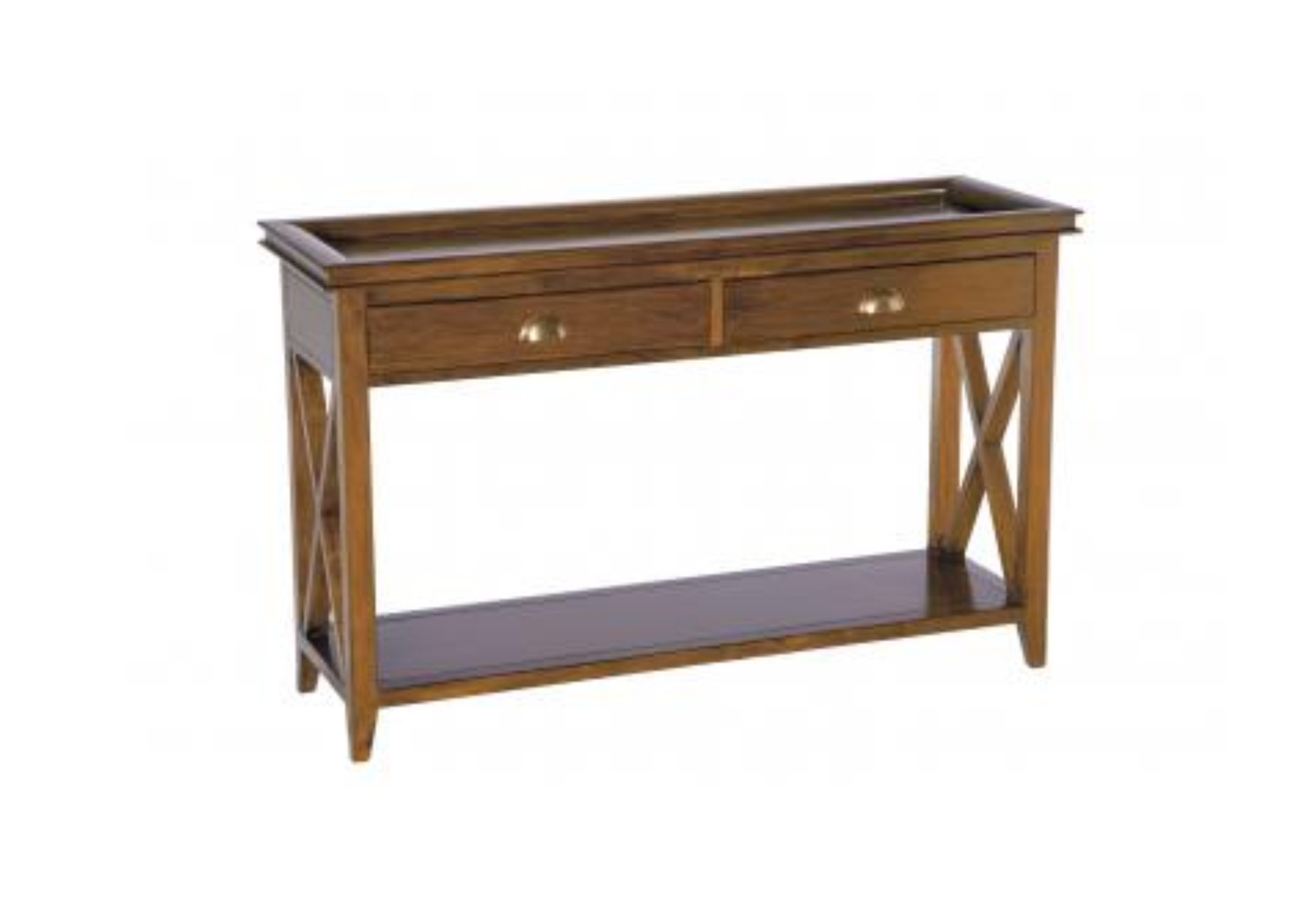 Oxford Mahogany Console Table
