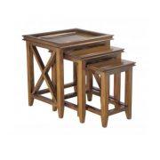 Oxford Mahogany Nest Table