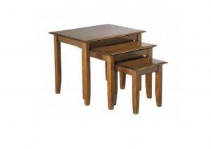 Mahogany Suffolk Nest Table