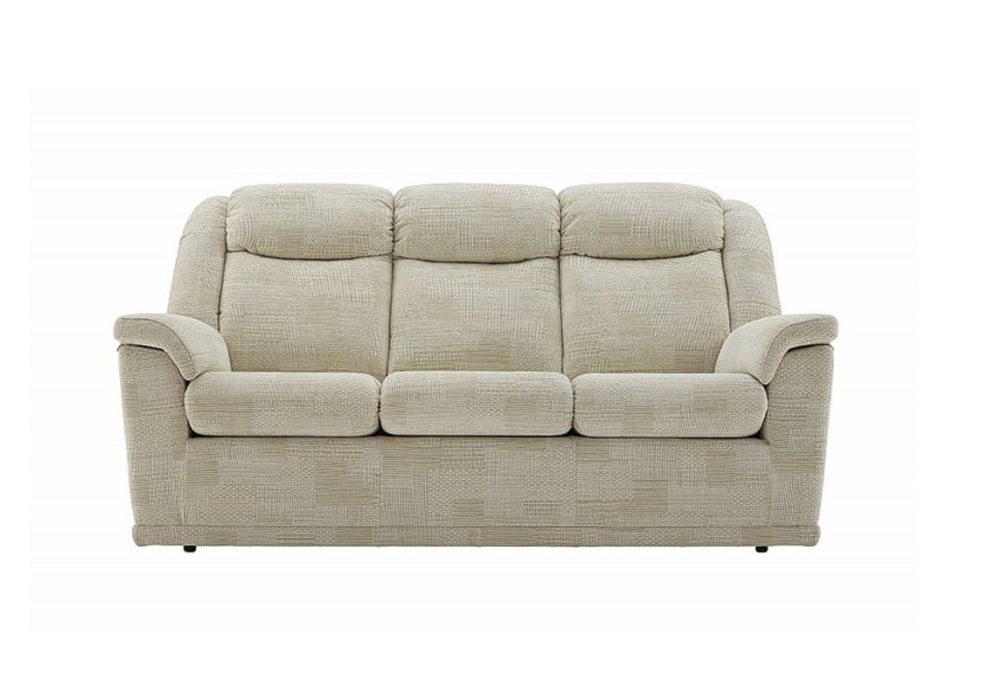 Milton 3 Seater Sofa leather fabric gplan donaldsons furnishers