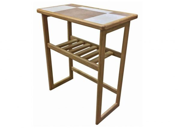 AnBercraft Traditional Tile Top Hall Table