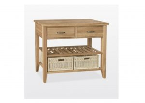 Windsor Oak Double Console Table