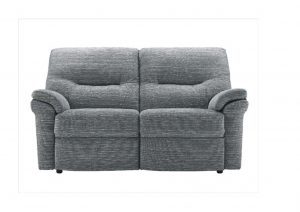 2 Seater Sofa leather fabric power manual fixed donaldsons funrnishers