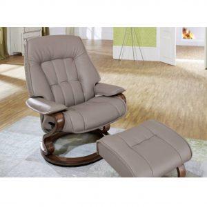 Elbe leather fabric manual stool donaldsons furnishers
