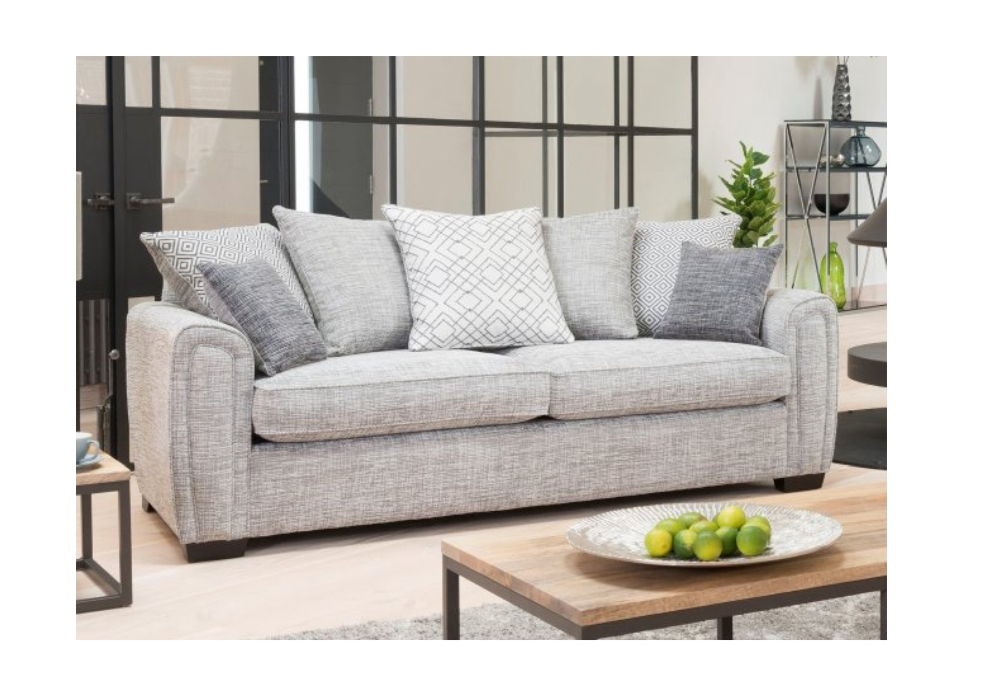 Memphis Grand Scatter Back Sofa