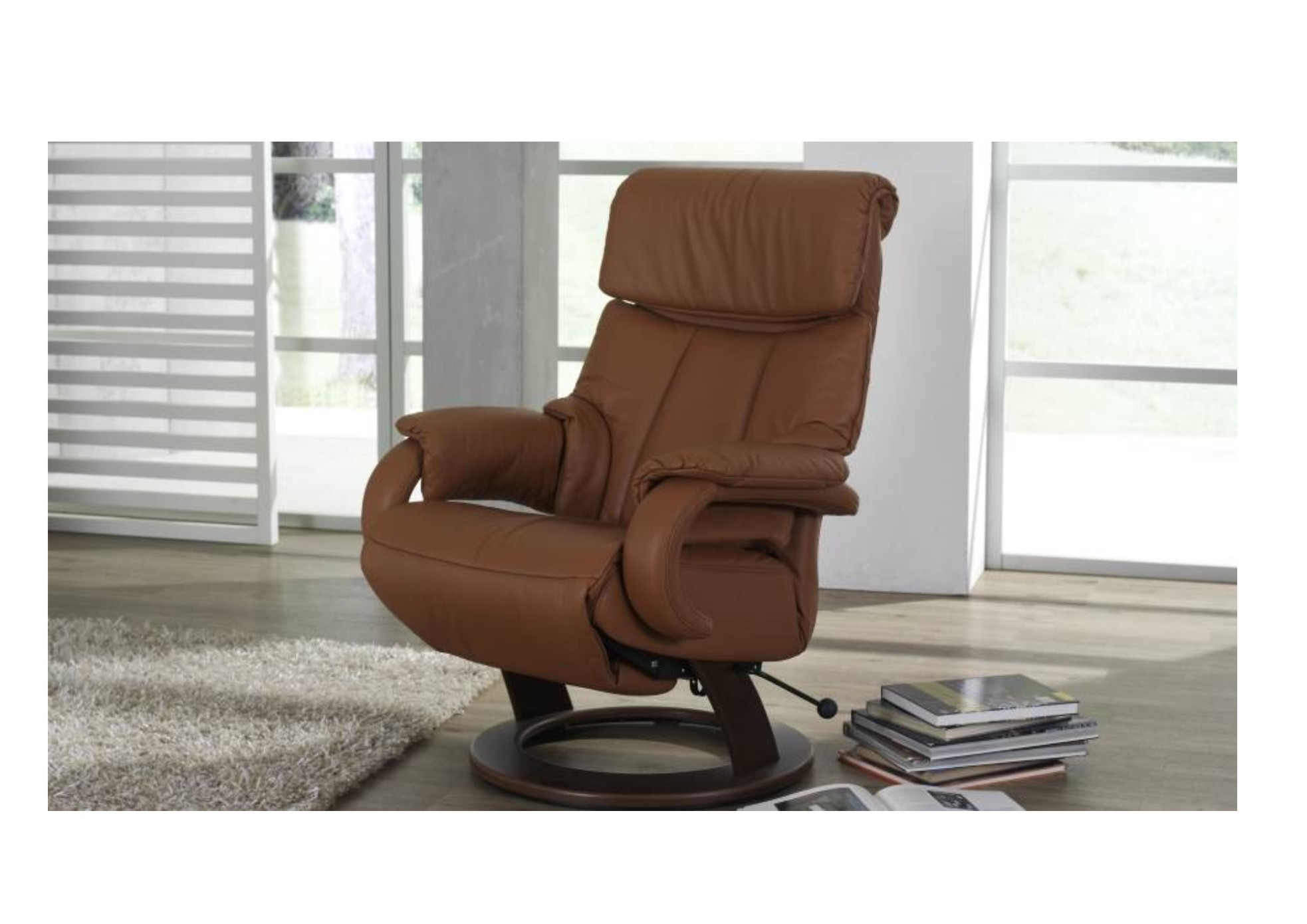 Tobi leather fabric reclining chair donaldsons furnishers