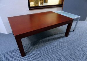 Clair Coffee Table with Glass Extend carlisle clearance