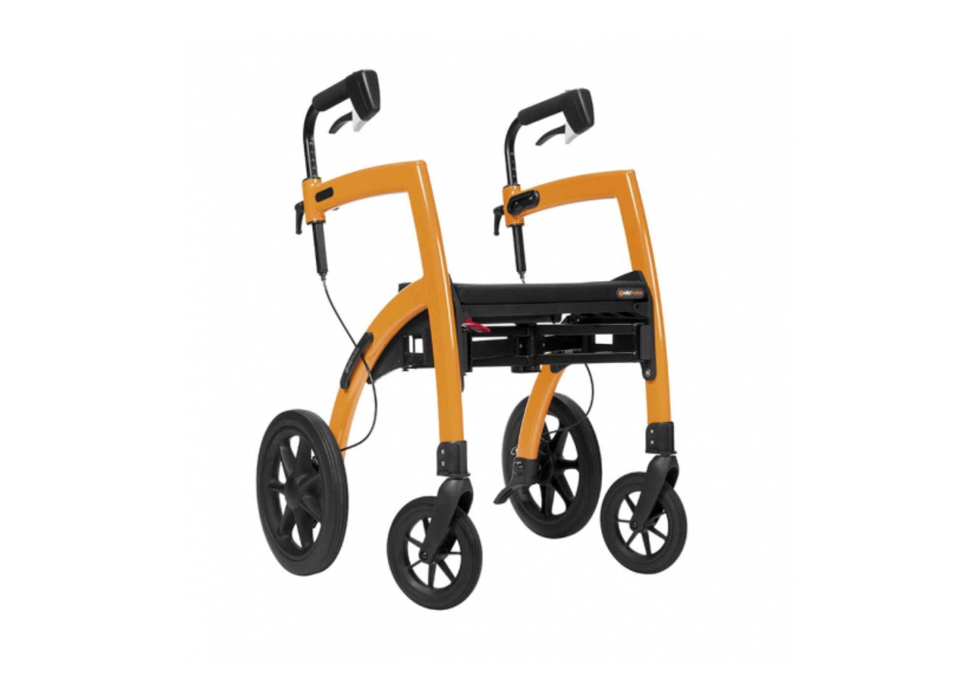 Rollz Motion Rollator And Wheelchair 2 In 1 Rollator And