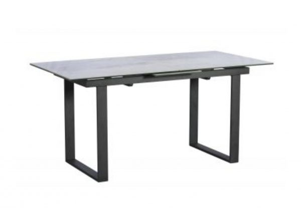 Panama Extending Dining Table Light Grey